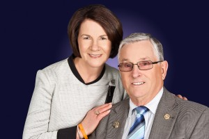 Judy & Trevor - Sept 2014