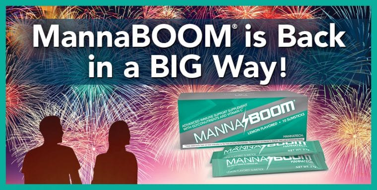 MannaBOOM is Back in a BIG Way!