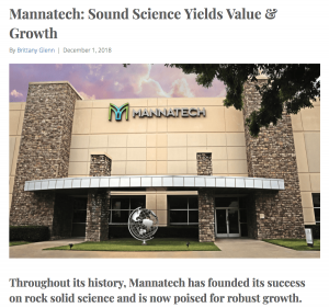 Mannatech: Sound Science