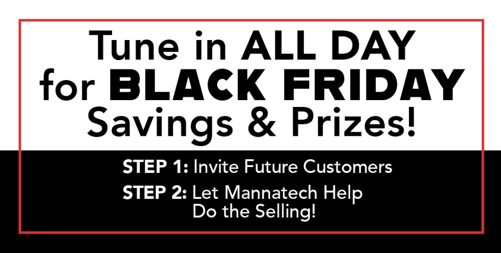 Tune In for Black Friday Savings & Prizes!