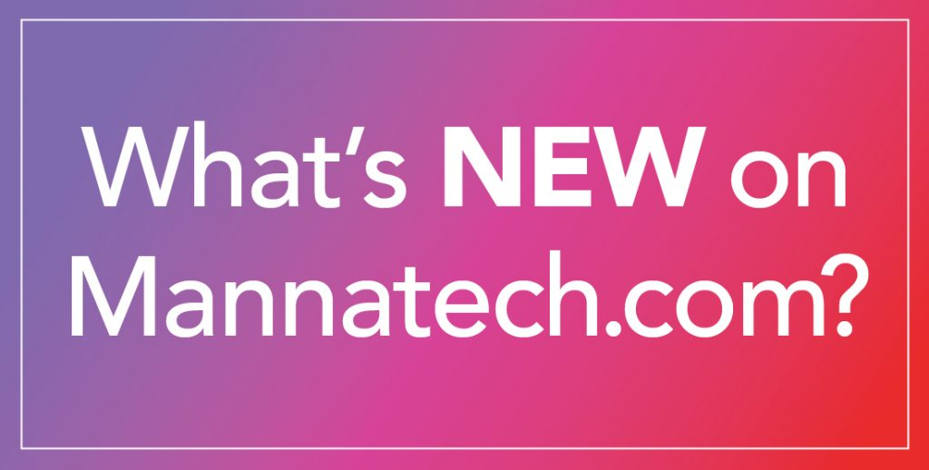 What's New on Mannatech.com!